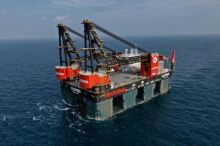 GE's Technology Powering the World's Largest Crane Vessel, Sleipnir