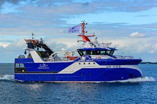 Innovative Damen-built vessel named in Scheveningen ceremony