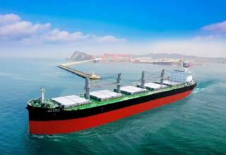 Kawasaki Heavy Industries delivers bulk carrier BBG GUILIN