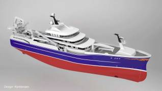 Kongsberg Maritime to deliver a large electric winch package for a new fishing vessel