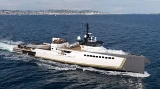 """New Yacht Support Vessel """"Blue Ocean"""" Launched"""