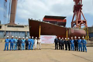 Jiangnan Shipyard lays keel for Exmar's first VLGC
