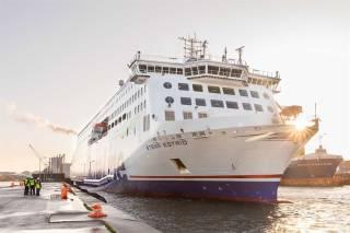 Stena Estrid makes her debut on the Irish Sea