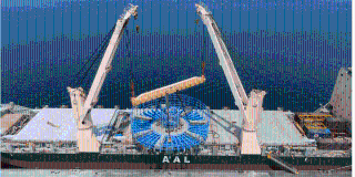 AAL Transports Giant Cable Carousel from Dubai to Taiwan for Offshore Clean Energy Project