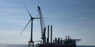 Jan De Nul Group installed the first offshore wind turbine for the 109.2 MW Taiwan Power Company