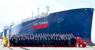 Hudong-Zhonghua Shipbuilding delivers Yamal LNG-dedicated tanker