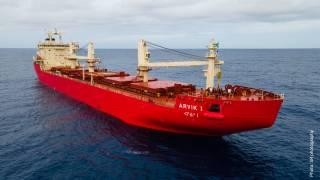 Fednav welcomes the mv Arvik I - its newest icebreaking bulk carrier