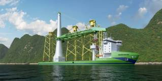 "SCWE Reaches Final Investment Decision And Orders Pioneering Offshore Wind Installation Vessel ""Green Jade"""