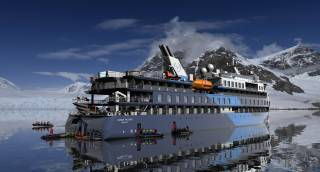 Successful seatrials of Ulstein-designed expedition cruise vessels