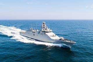 Damen delivers POLA Class vessel to the Mexican Navy