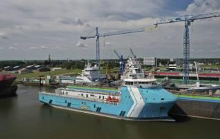 Walk to work conversion project for shipyard Royal Niestern Sander