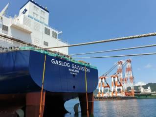 Cheniere-chartered GasLog Galveston completes sea trials