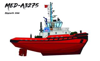 Med Marine: Turkish-built tug equipped with SCHOTTEL bestseller