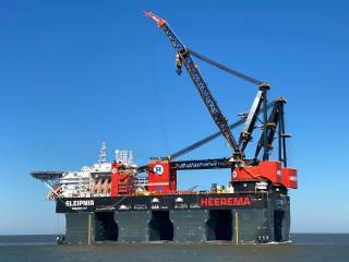 Heerema wins in wind with Sofia Contract