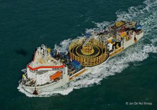 Jan De Nul and LS Cable will connect offshore wind farms Hollandse Kust Noord and West Alpha to the Dutch power grid