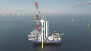 ABB wins system contract for Japan's first super-size wind turbine installation vessel