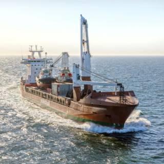Spotted: Spliethoff's Pauwgracht with Deck Cargo