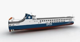 DFDS Takes Delivery of Third Chinese-Built RoRo