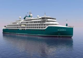 Helsinki Shipyard Launches First Cruise Ship for Swan Hellenic