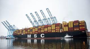 The Northwest Seaport Alliance welcome's MSC Santana service to Tacoma Harbor
