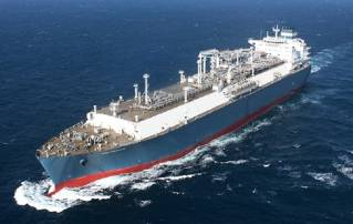 Hyundai Heavy Industries will test out unmanned ocean voyage by a super-big LNG carrier