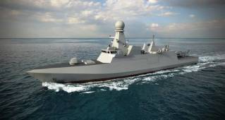 Fincantieri: The first corvette for Qatar launched
