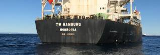 Australia bans bulk carrier TW Hamburg for wage exploitation