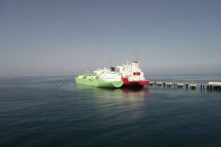 First LNG Transfer to Ertuğrul Gazi
