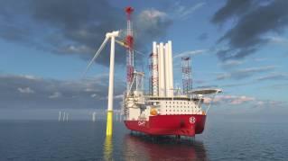 Broad scope of Wärtsilä solutions selected for OHT's next-generation wind turbine installation vessel