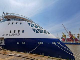 Ocean Explorer - Ulstein-designed expedition cruise vessel successfully delivered from CMHI Haimen yard, China