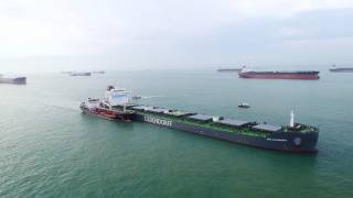 BHP Oldendorff and GoodFuels successfully complete first trial with sustainable biofuel supplied in Singapore