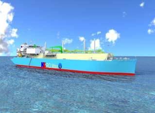 GTT received an order from Hudong-Zhonghua Shipbuilding Group for the tank design of a new LNG carrier