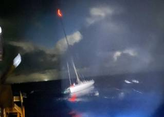 US Coast Guard rescues 15 mariners off Hawaii