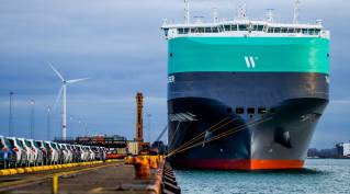 A first-of-its-kind naming ceremony for HERO vessel MV Tannhauser