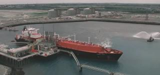VIDEO: LNG Carrier Madrid Spirit At New Dunkerque LNG Terminal