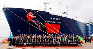 LNG Carrier CESI Gladstone Delivered for SINOPEC LNG Project