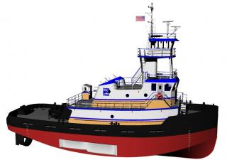 Conrad Shipyard teams with Harley Marine for ocean tugs