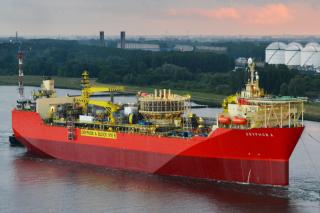 World's First: Drone Inspects Oil Tank on FPSO