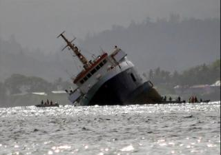 Photo Report: Ferry capsizes off Fijian capital Suva