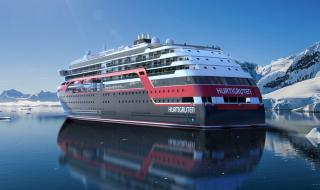 Rolls-Royce to deliver ship design and equipment to Hurtigruten's new polar cruise vessels