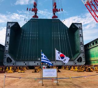 GasLog lays keel for XDF LNG carrier