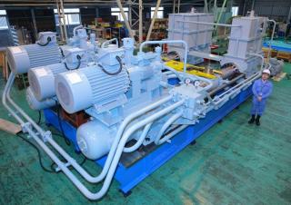MHI-MME Delivers World's largest-sized Electro-Hydraulic Steering Gear To Be Installed in 20,000TEUs boxship