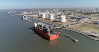 EXMAR's FLNG arrived in Argentina