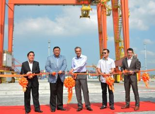 ICTSI opens Manila International Container Terminal Yard 7