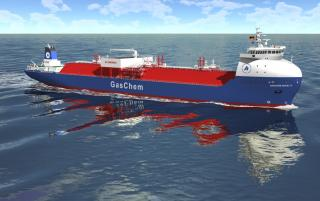 Ocean Yield announces delivery of ethylene gas carrier with long term charter to Hartmann/Sabic