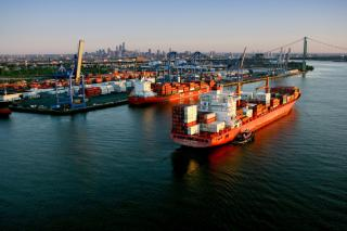 Atlantic RoRo Carriers makes its first vessel call at The Port of Philadelphia