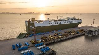 The Port of New York and New Jersey welcomed WW Ocean's High-Efficient Ro-Ro (HERO) ship, the mv Titus
