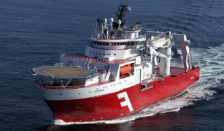 Ocean Infinity hires Solstad Offshore' 250t crane CSV for seabed mapping and survey services