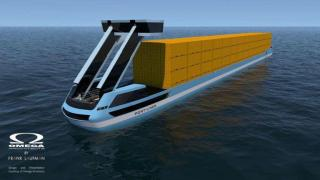 Electric container ships for Tilburg-Rotterdam route