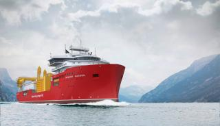 Major milestone passed for Nexans' new DP3 cable laying vessel, CS Aurora